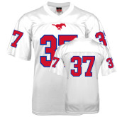Replica White Adult Football Jersey-#37