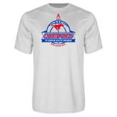 Performance White Tee-2017 AAC Conference Champions - Mens Basketball Banners