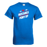 Royal T Shirt-Mustangs Pony Up