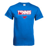 Royal T Shirt-Tennis Design