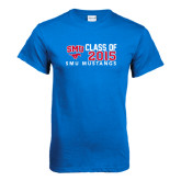 Royal T Shirt-SMU Mustangs Class of Design