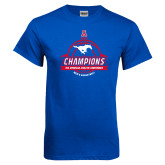 Royal T Shirt-2017 AAC Conference Champions - Mens Basketball Banners