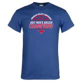 Royal T Shirt-2017 Mens Soccer Champions