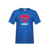 Youth Royal T Shirt-Spirit