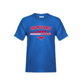 Youth Royal T Shirt-Rowing Profile Design