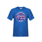 Youth Royal T Shirt-Swim and Dive Design