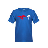 Youth Royal T Shirt-Pony Up