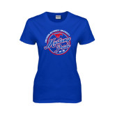 Ladies Royal T Shirt-Mustang Pride