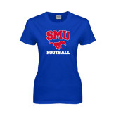 Ladies Royal T Shirt-Football