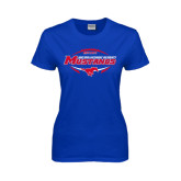 Ladies Royal T Shirt-Mustangs in Football