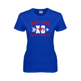 Ladies Royal T Shirt-Cross Country Design