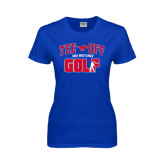 Ladies Royal T Shirt-Tee Off Design