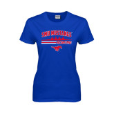 Ladies Royal T Shirt-Rowing Profile Design