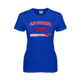 Ladies Royal T Shirt-Rowing Design