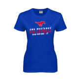 Ladies Royal T Shirt-Can You Dig It