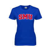 Ladies Royal T Shirt-Block SMU