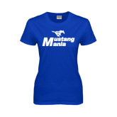 Ladies Royal T Shirt-Mustang Mania