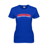 Ladies Royal T Shirt-Arched Mustangs