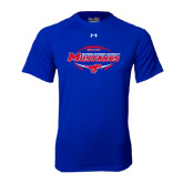 Under Armour Royal Tech Tee-Mustangs in Football