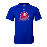 Under Armour Royal Tech Tee-Player on Basketball Design