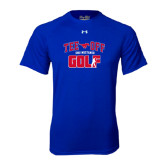 Under Armour Royal Tech Tee-Tee Off Design