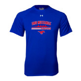 Under Armour Royal Tech Tee-Rowing Profile Design