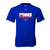 Under Armour Royal Tech Tee-Tennis Design