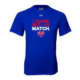Under Armour Royal Tech Tee-Game Set Match