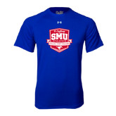 Under Armour Royal Tech Tee-A Century of SMU Athletics