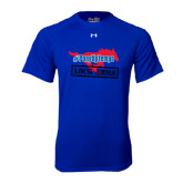 Under Armour Royal Tech Tee-#PonyUpTempo Lock Arms