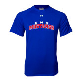 Under Armour Royal Tech Tee-Arched SMU Mustangs