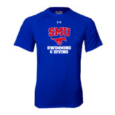 Under Armour Royal Tech Tee-Swimming and Diving