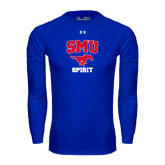 Under Armour Royal Long Sleeve Tech Tee-Spirit