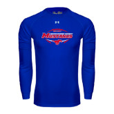Under Armour Royal Long Sleeve Tech Tee-Mustangs in Football