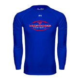 Under Armour Royal Long Sleeve Tech Tee-Athletic Mustangs in Football