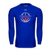 Under Armour Royal Long Sleeve Tech Tee-Mustang in Basketball