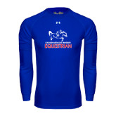 Under Armour Royal Long Sleeve Tech Tee-Equestrian Design