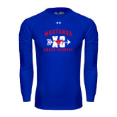 Under Armour Royal Long Sleeve Tech Tee-Cross Country Design