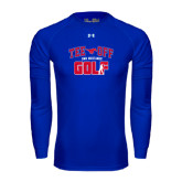 Under Armour Royal Long Sleeve Tech Tee-Tee Off Design