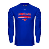 Under Armour Royal Long Sleeve Tech Tee-Rowing Profile Design