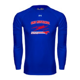 Under Armour Royal Long Sleeve Tech Tee-Rowing Design