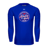 Under Armour Royal Long Sleeve Tech Tee-Swim and Dive Design