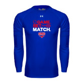 Under Armour Royal Long Sleeve Tech Tee-Game Set Match