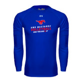 Under Armour Royal Long Sleeve Tech Tee-Can You Dig It