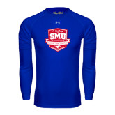 Under Armour Royal Long Sleeve Tech Tee-A Century of SMU Athletics