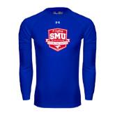 Under Armour Royal Long Sleeve Tech Tee-A Century of SMU Athletics