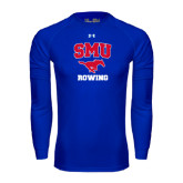 Under Armour Royal Long Sleeve Tech Tee-Rowing