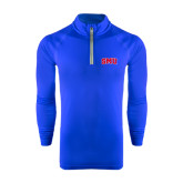 Under Armour Royal Tech 1/4 Zip Performance Shirt-Block SMU
