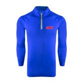 Under Armour Royal Tech 1/4 Zip Performance Shirt-Block SMU