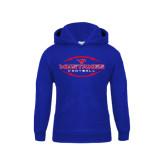 Youth Royal Fleece Hoodie-Athletic Mustangs in Football